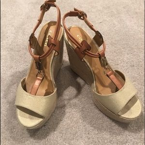 Coach espadrille wedges